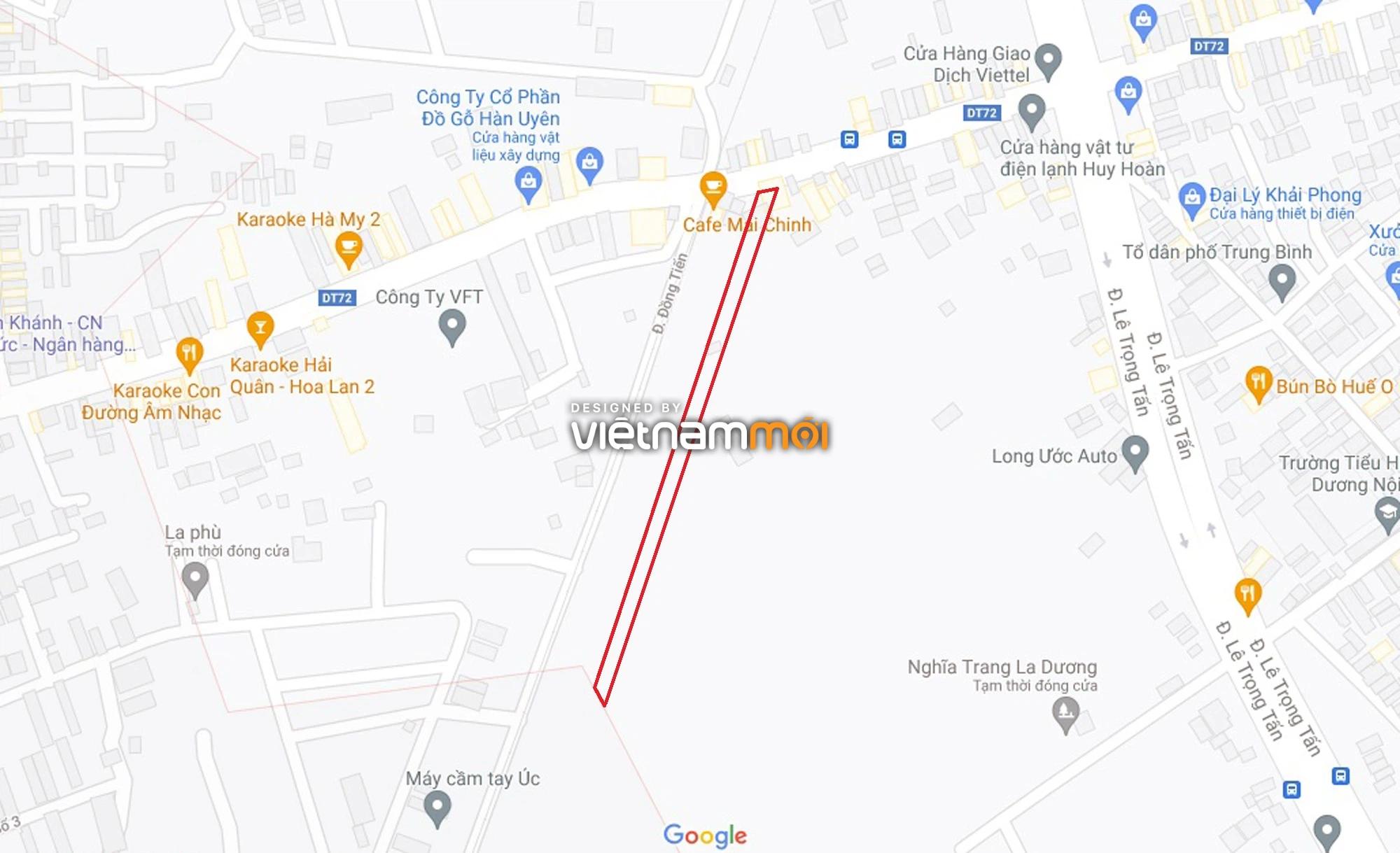 Đường sẽ mở theo quy hoạch ở phường Dương Nội, Hà Đông, Hà Nội (phần 2) - Ảnh 5.