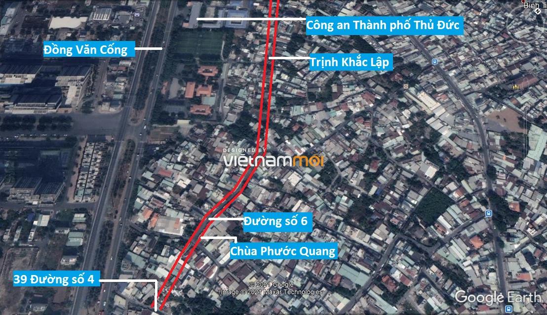 Đường sẽ mở theo quy hoạch ở phường Thạnh Mỹ Lợi, quận 2, Thủ Đức, TP HCM (phần 5) - Ảnh 5.