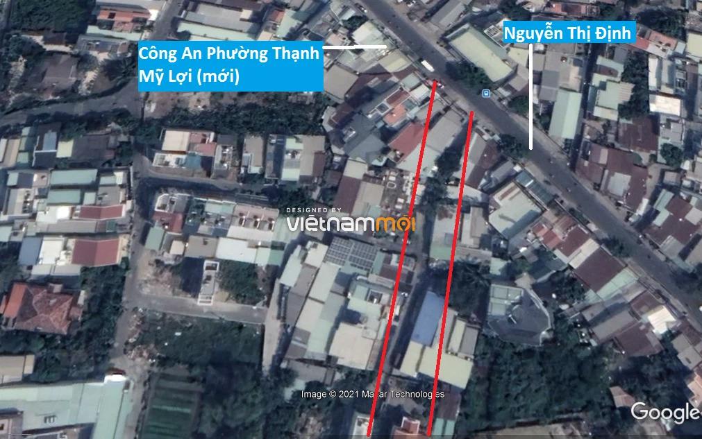 Đường sẽ mở theo quy hoạch ở phường Thạnh Mỹ Lợi, quận 2, Thủ Đức, TP HCM (phần 6) - Ảnh 3.