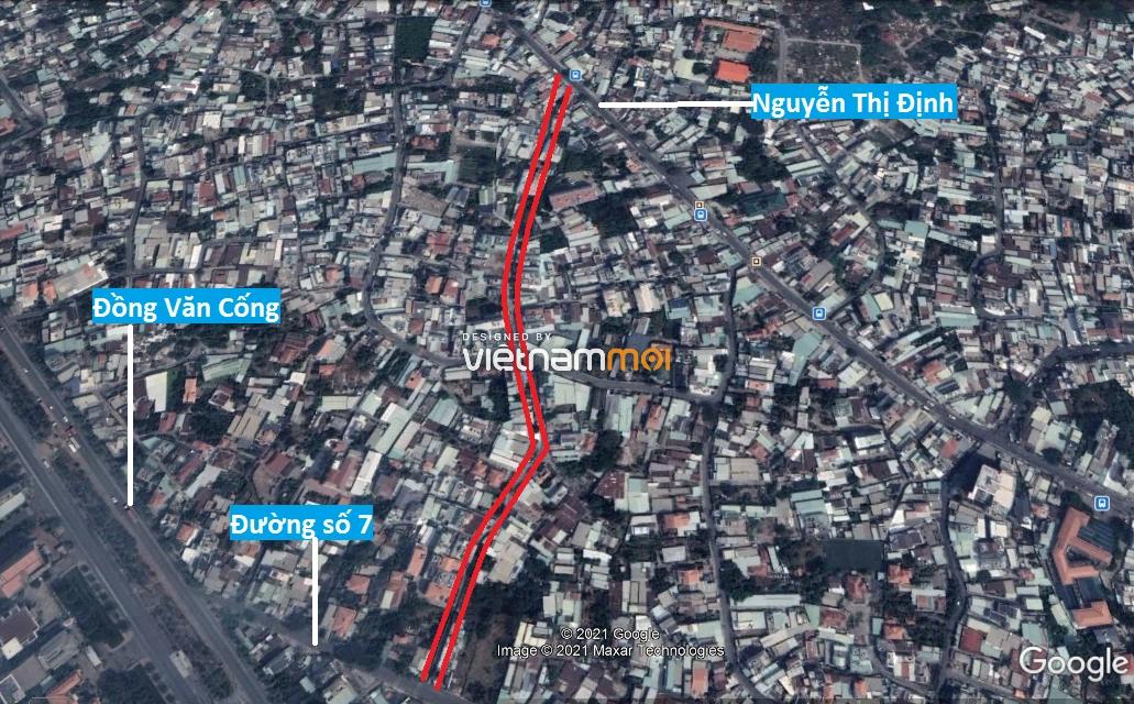 Đường sẽ mở theo quy hoạch ở phường Thạnh Mỹ Lợi, quận 2, Thủ Đức, TP HCM (phần 6) - Ảnh 2.