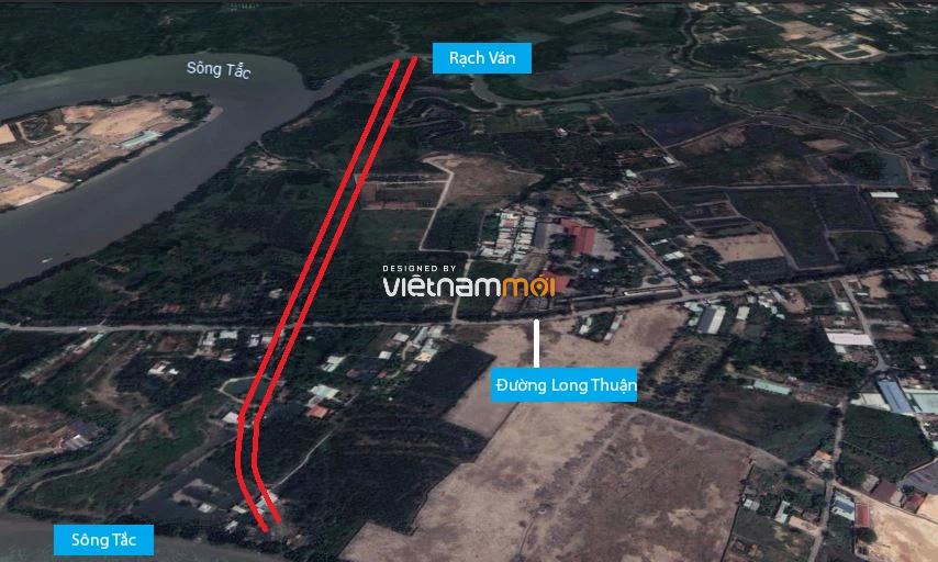 Đường sẽ mở theo quy hoạch ở phường Long Phước, quận 9, Thủ Đức, TP HCM (phần 1) - Ảnh 2.