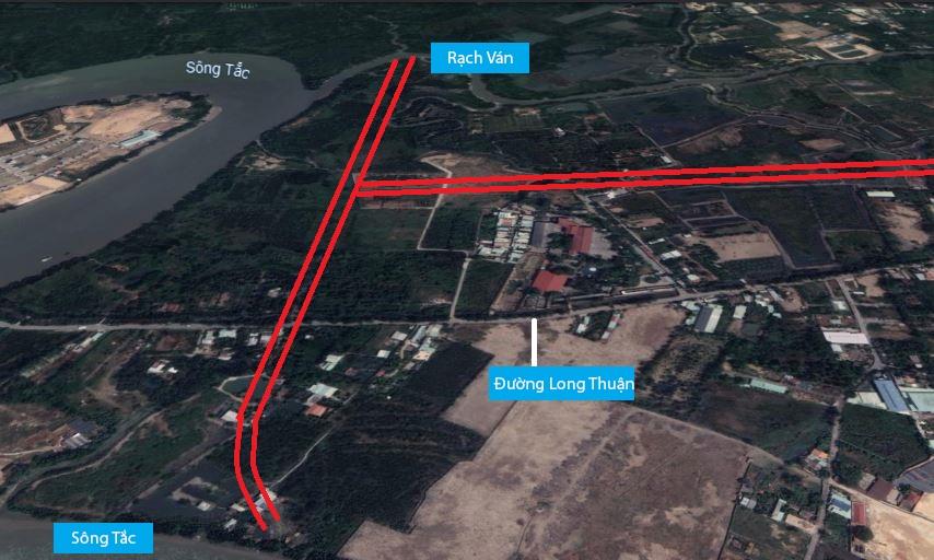 Đường sẽ mở theo quy hoạch ở phường Long Phước, quận 9, Thủ Đức, TP HCM (phần 1) - Ảnh 3.