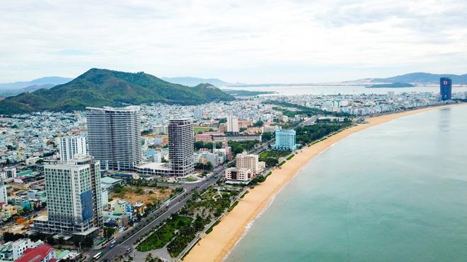 Bình Định điều chỉnh giá khởi điểm 77 lô đất đấu giá tại TP Quy Nhơn - Ảnh 1.