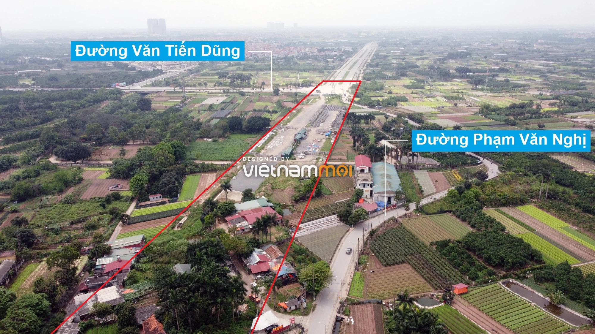 Những khu đất sắp thu hồi để mở đường ở quận Bắc Từ Liêm, Hà Nội (phần 2) - Ảnh 3.