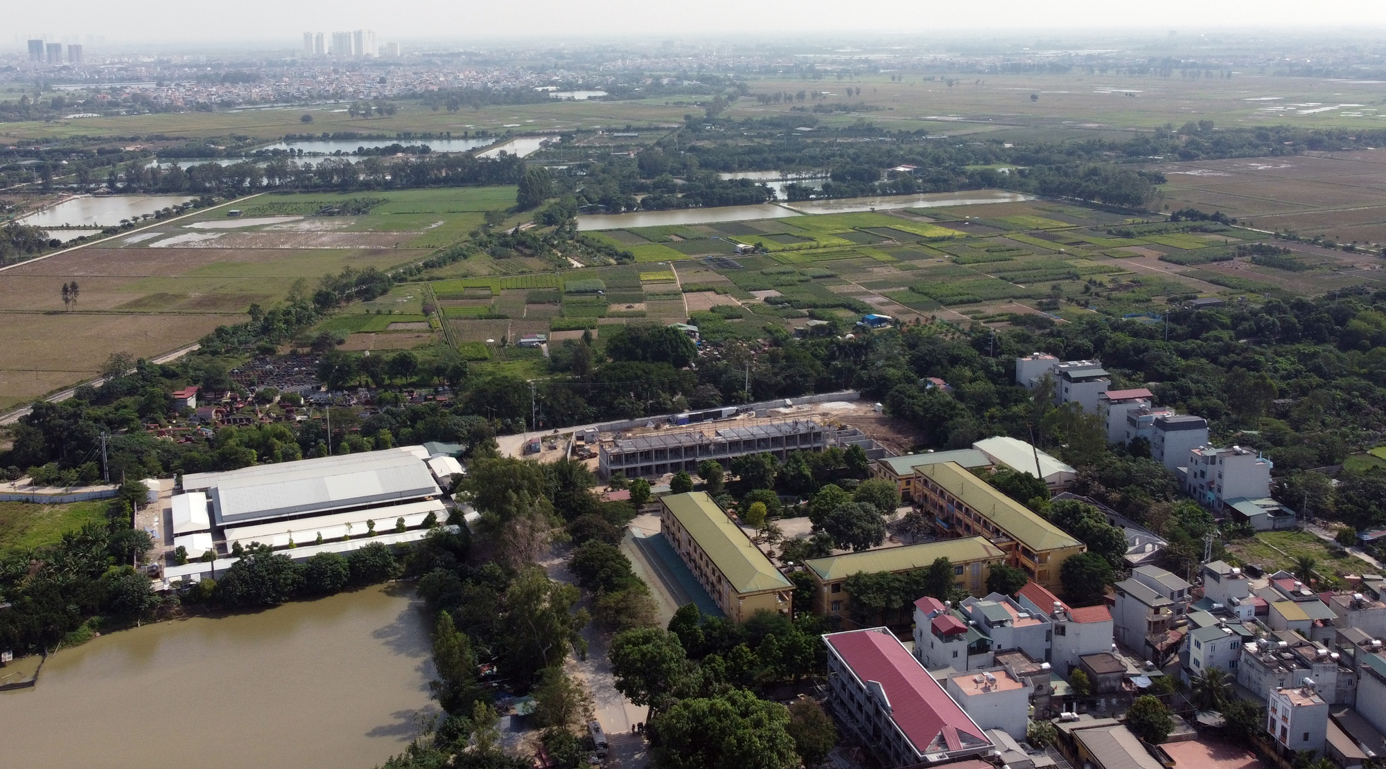 Hà Nội điều chỉnh cục bộ quy hoạch phân khu đô thị GS tại huyện Thanh Trì - Ảnh 1.