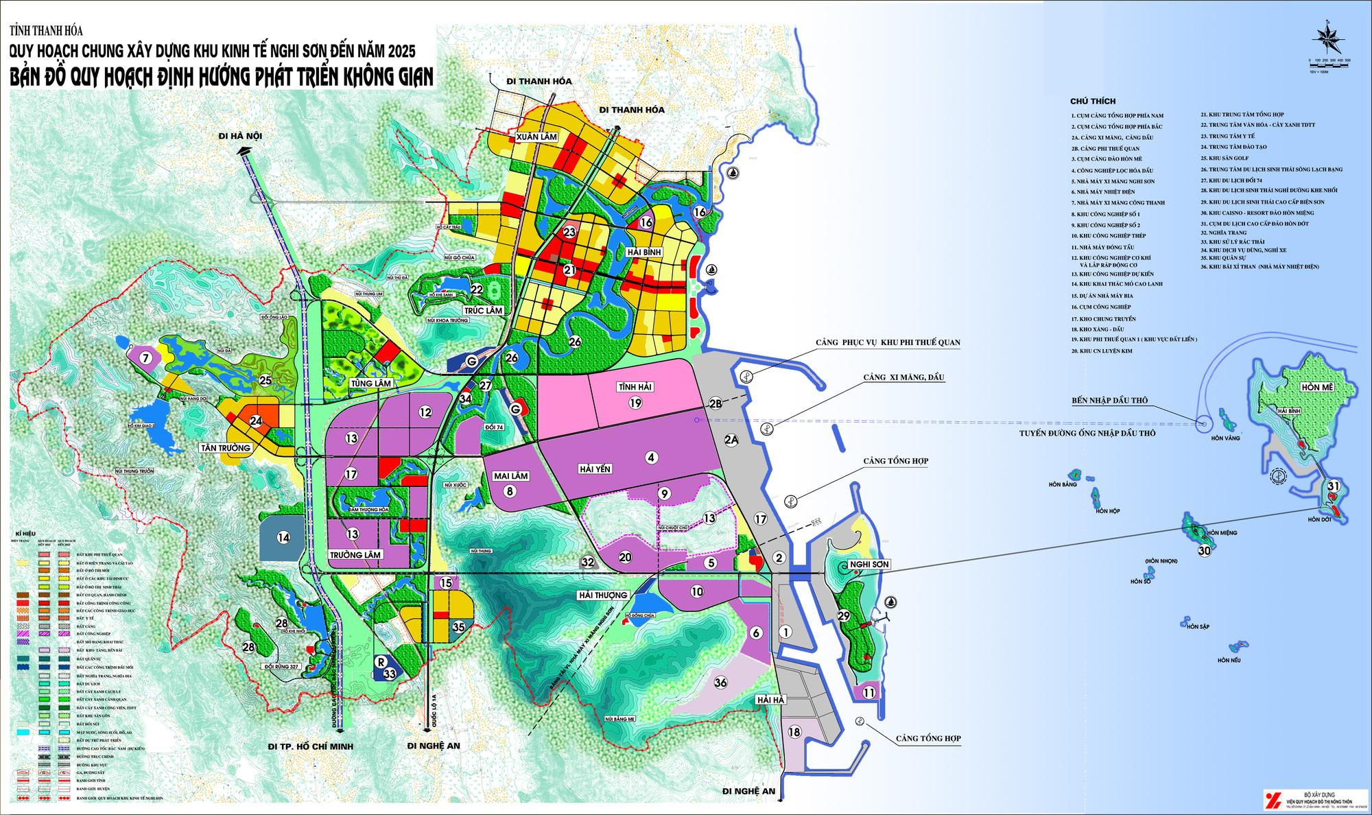 Thanh Hóa điều chỉnh quy hoạch khu tái định cư 11,5 ha trong KKT Nghi Sơn - Ảnh 2.
