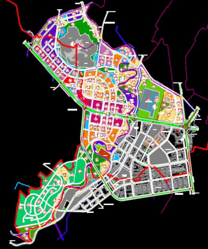 Thanh Hóa điều chỉnh quy hoạch phân khu 794 ha tại TP Thanh Hóa - Ảnh 1.