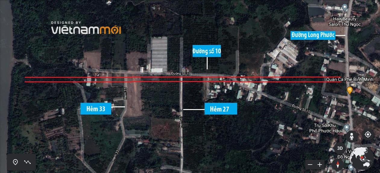 Đường sẽ mở theo quy hoạch ở phường Long Phước, quận 9, Thủ Đức, TP HCM (phần 4) - Ảnh 9.