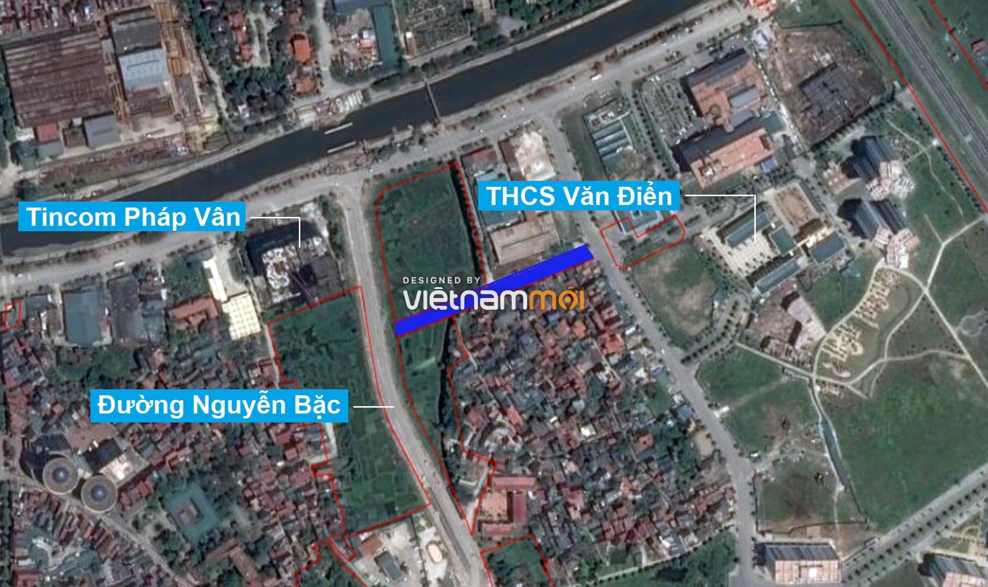 Những khu đất sắp thu hồi để mở đường ở xã Tứ Hiệp, Thanh Trì, Hà Nội (phần 1) - Ảnh 2.