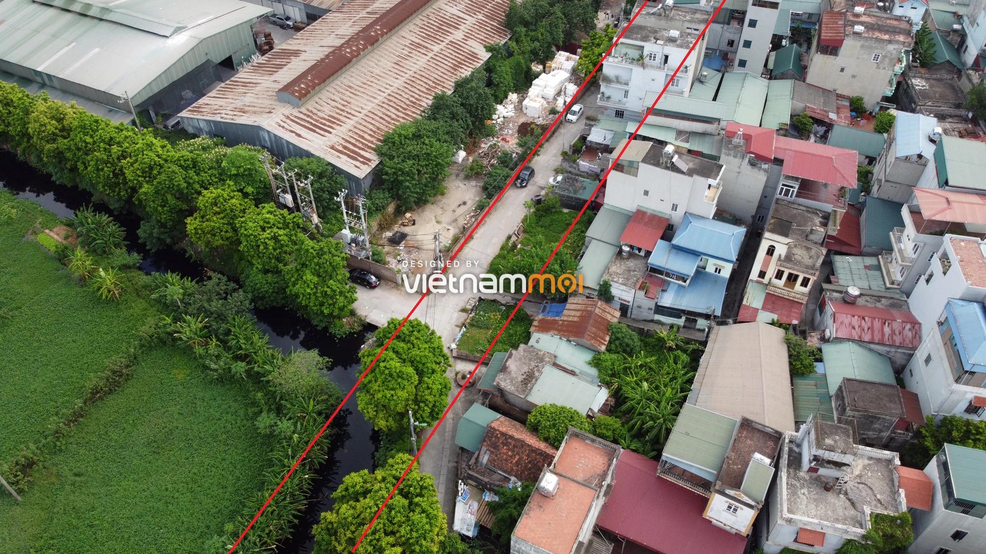 Những khu đất sắp thu hồi để mở đường ở xã Tứ Hiệp, Thanh Trì, Hà Nội (phần 1) - Ảnh 6.