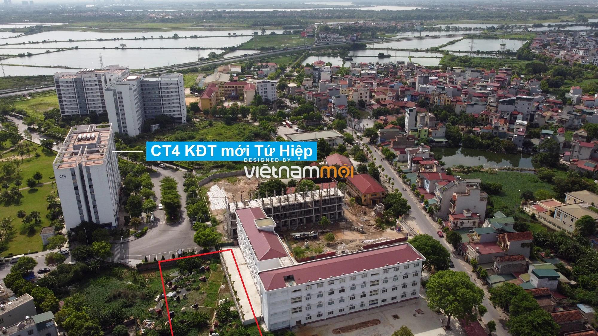 Những khu đất sắp thu hồi để mở đường ở xã Tứ Hiệp, Thanh Trì, Hà Nội (phần 1) - Ảnh 14.