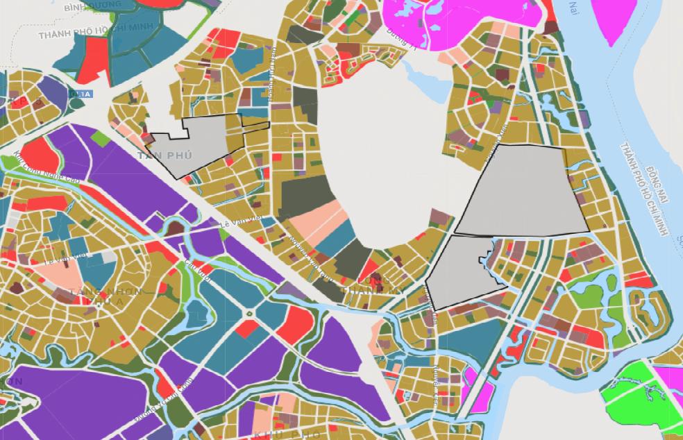 Bản đồ quy hoạch sử dụng đất phường Long Thạnh Mỹ, quận 9, TP Thủ Đức - Ảnh 2.