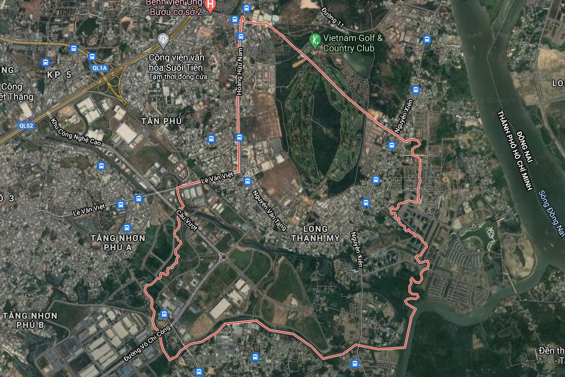 Bản đồ quy hoạch sử dụng đất phường Long Thạnh Mỹ, quận 9, TP Thủ Đức - Ảnh 1.