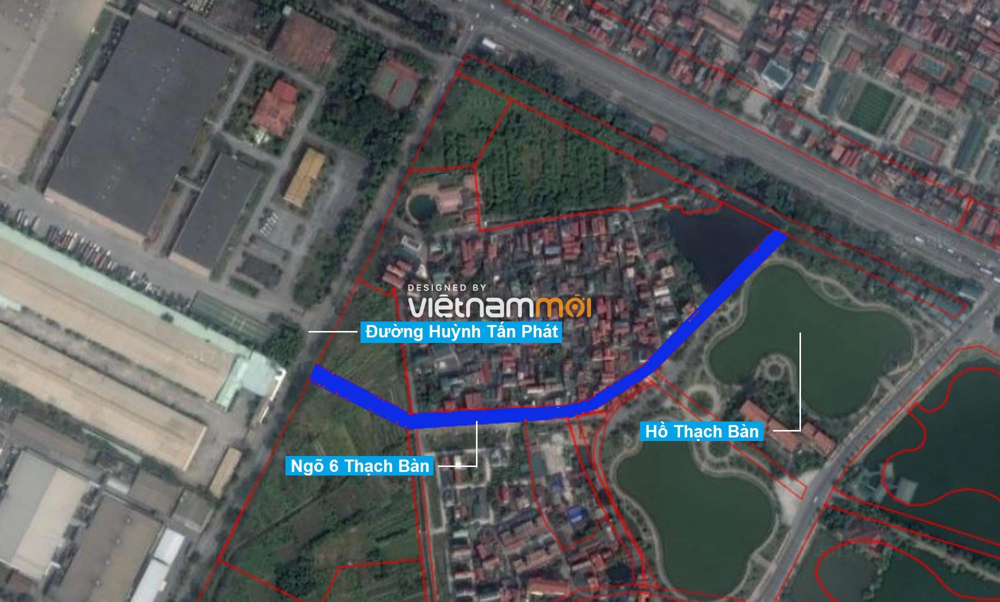 Những khu đất sắp thu hồi để mở đường ở phường Thạch Bàn, Long Biên, Hà Nội (phần 3) - Ảnh 2.
