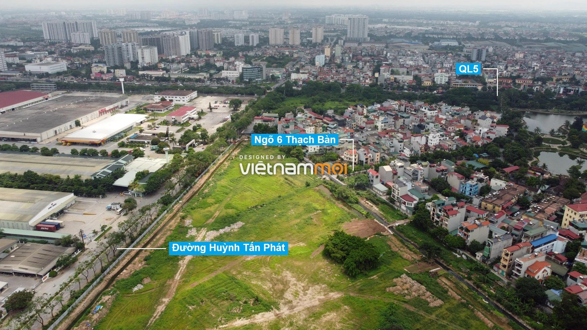 Những khu đất sắp thu hồi để mở đường ở phường Thạch Bàn, Long Biên, Hà Nội (phần 3) - Ảnh 7.