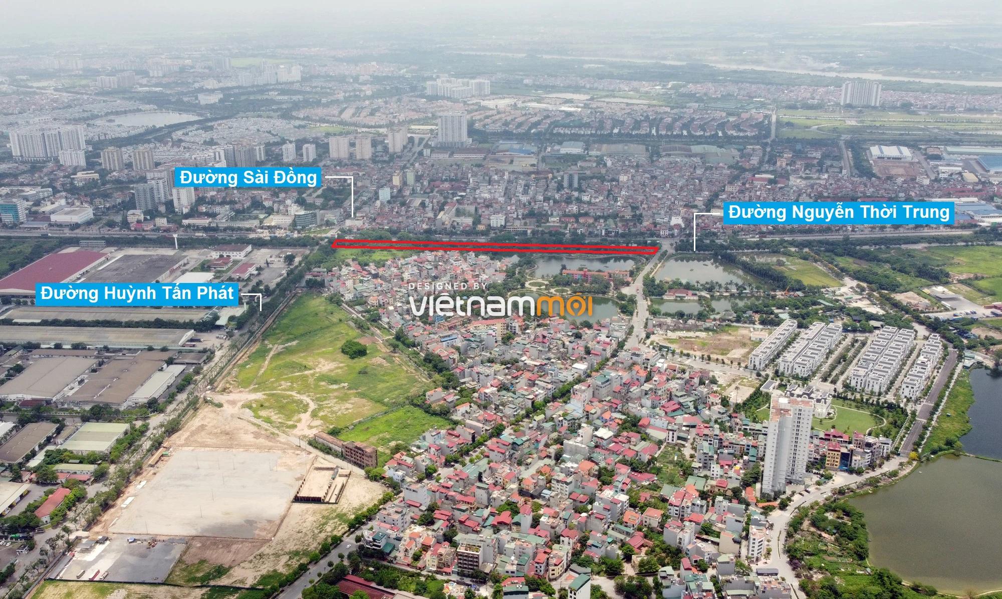 Những khu đất sắp thu hồi để mở đường ở phường Thạch Bàn, Long Biên, Hà Nội (phần 3) - Ảnh 13.