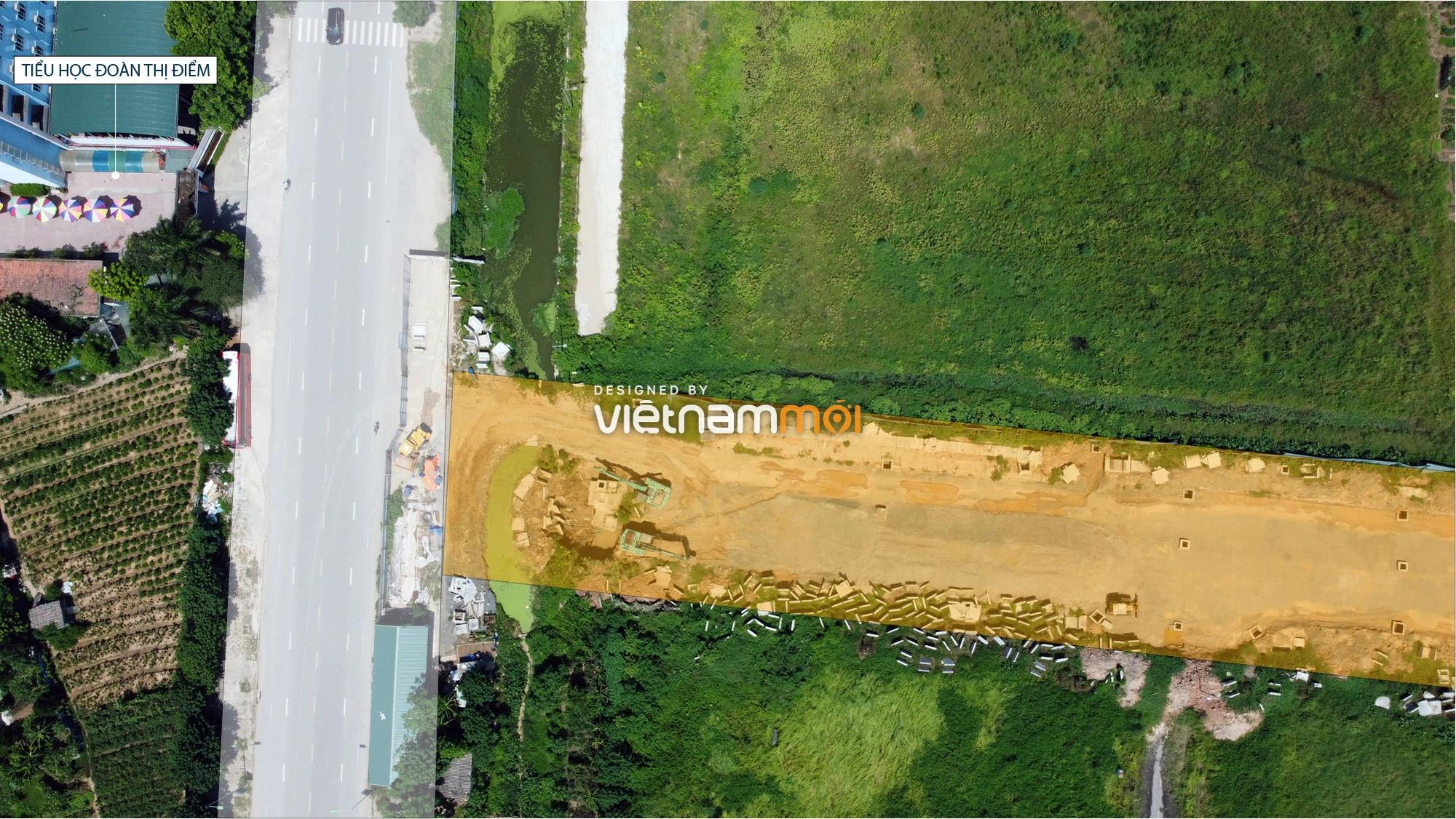Toàn cảnh tuyến đường nối Hoàng Tăng Bí - Phố Viên đang mở theo quy hoạch ở Hà Nội - Ảnh 13.