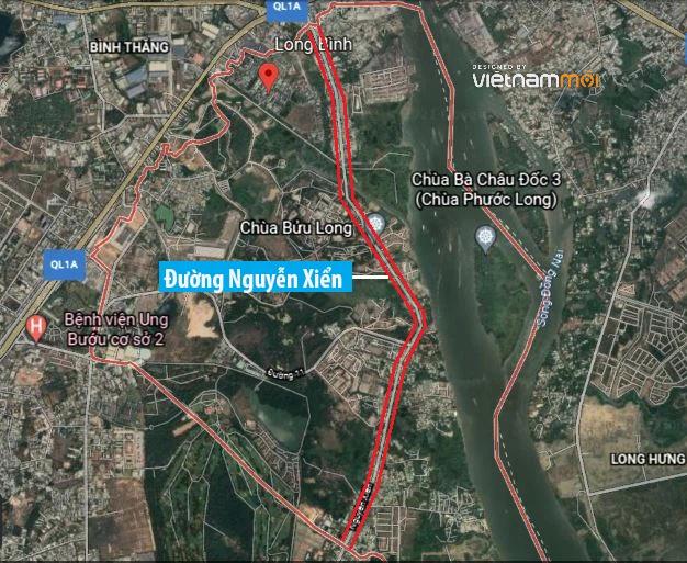 Đường sẽ mở theo quy hoạch ở phường Long Bình, quận 9, Thủ Đức, TP HCM - Ảnh 2.
