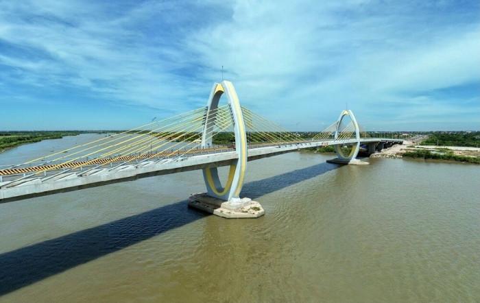 Khánh thành cầu Quang Thanh và cầu Dinh nối Hải Phòng với Hải Dương - Ảnh 1.