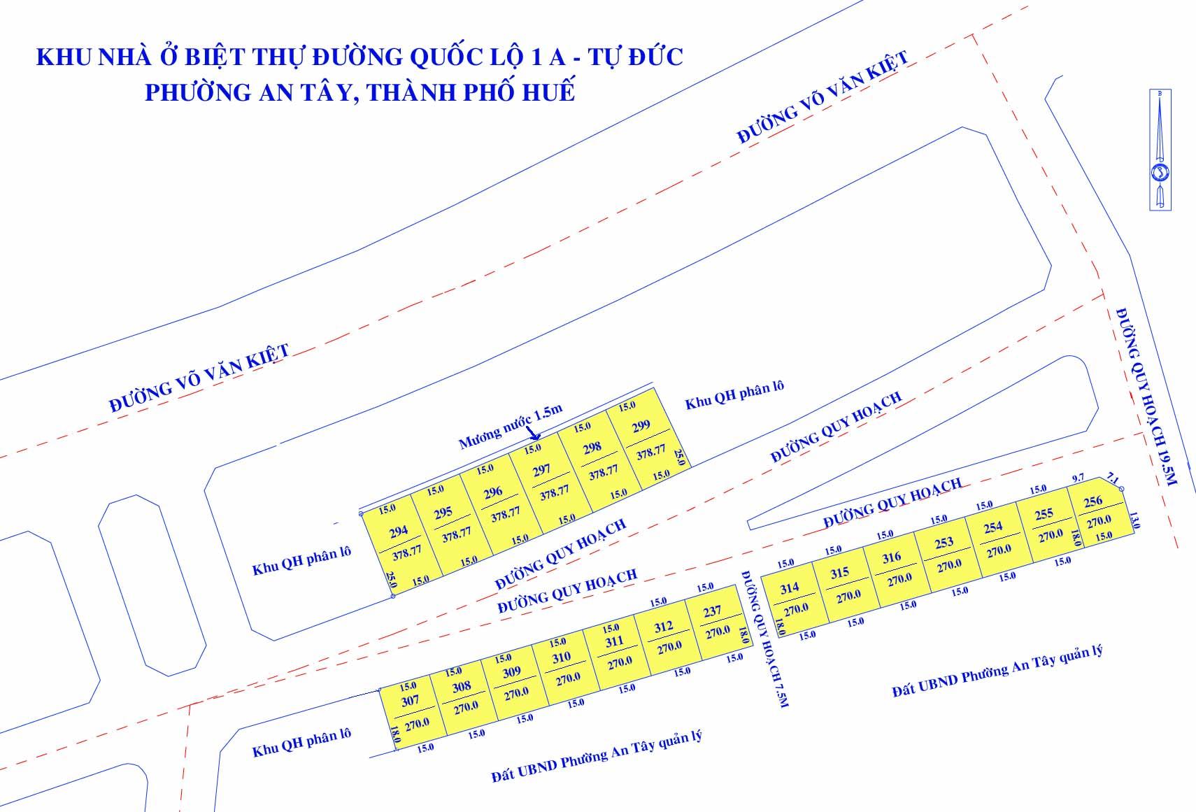 TP Huế: Đấu giá 21 lô đất khu nhà biệt thự đường quốc lộ 1A - Tự Đức, khởi điểm 17 triệu đồng/m2 - Ảnh 1.