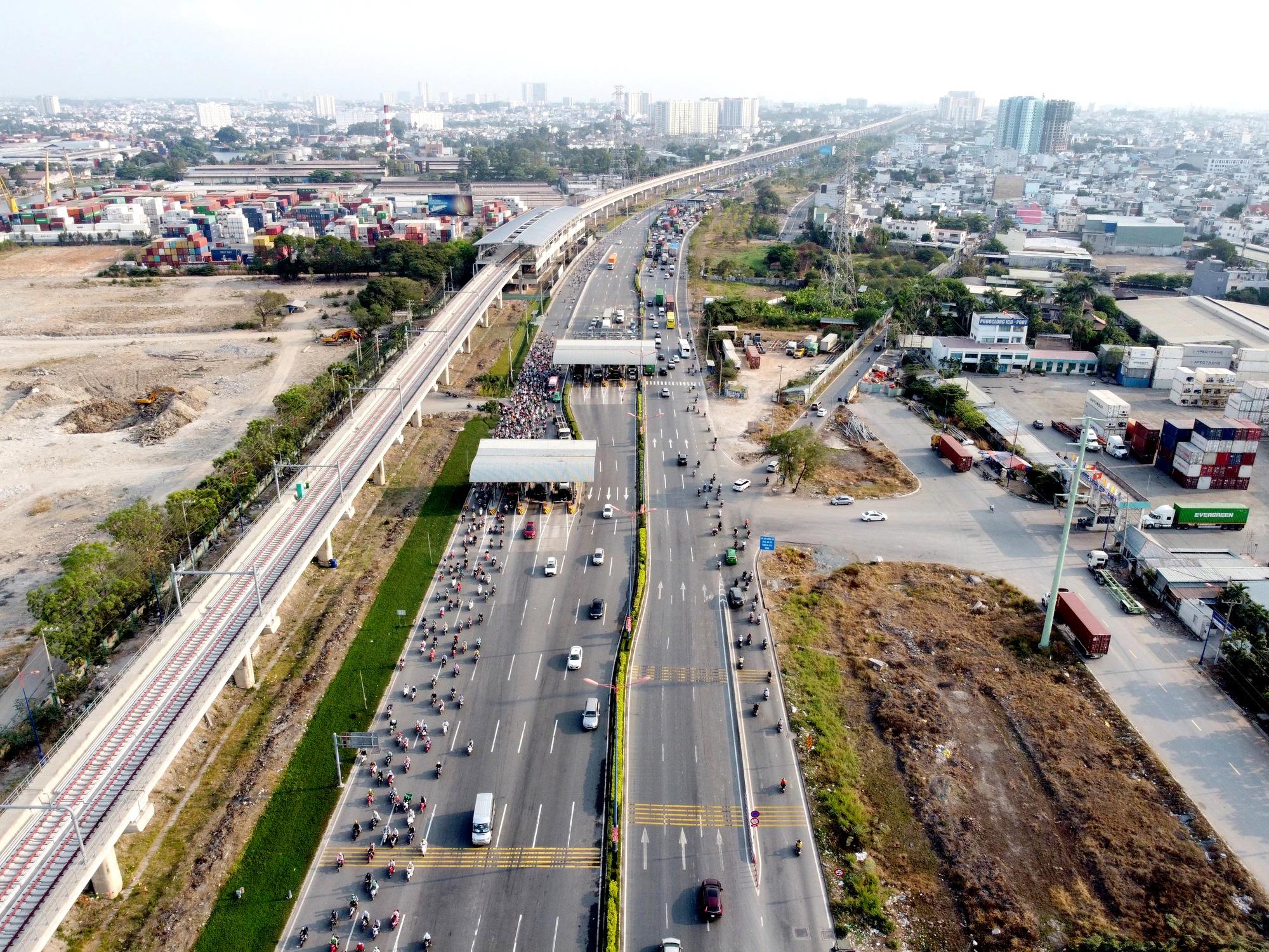 8 tuyến đường sắt đô thị của TP HCM: Metro số 1 chạy thương mại năm 2022, Metro số 2 GPMB xong trong năm nay - Ảnh 5.