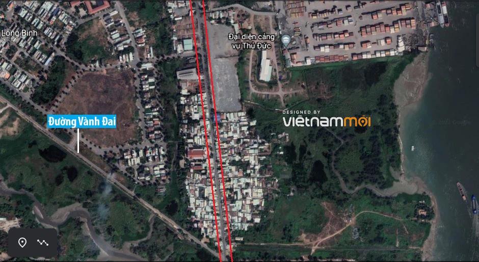 Đường sẽ mở theo quy hoạch ở phường Long Bình, quận 9, Thủ Đức, TP HCM - Ảnh 4.
