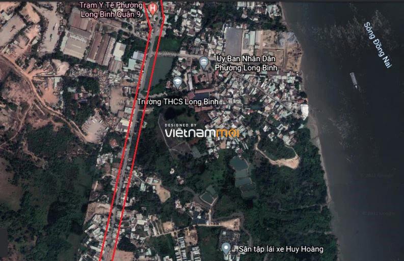 Đường sẽ mở theo quy hoạch ở phường Long Bình, quận 9, Thủ Đức, TP HCM - Ảnh 8.