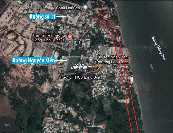 Đường sẽ mở theo quy hoạch ở phường Long Bình, quận 9, Thủ Đức, TP HCM (phần 2) - Ảnh 2.