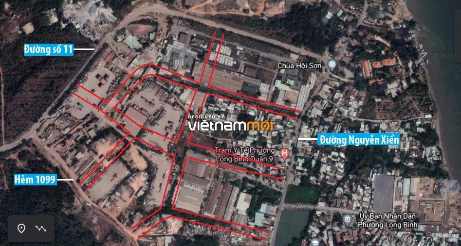 Đường sẽ mở theo quy hoạch ở phường Long Bình, quận 9, Thủ Đức, TP HCM (phần 2) - Ảnh 7.