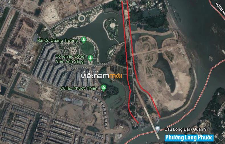 Đường sẽ mở theo quy hoạch ở phường Long Bình, quận 9, Thủ Đức, TP HCM (phần 2) - Ảnh 5.