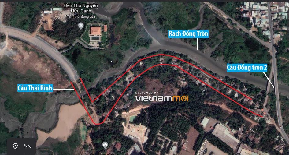 Đường sẽ mở theo quy hoạch ở phường Long Bình, quận 9, Thủ Đức, TP HCM (phần 2) - Ảnh 6.