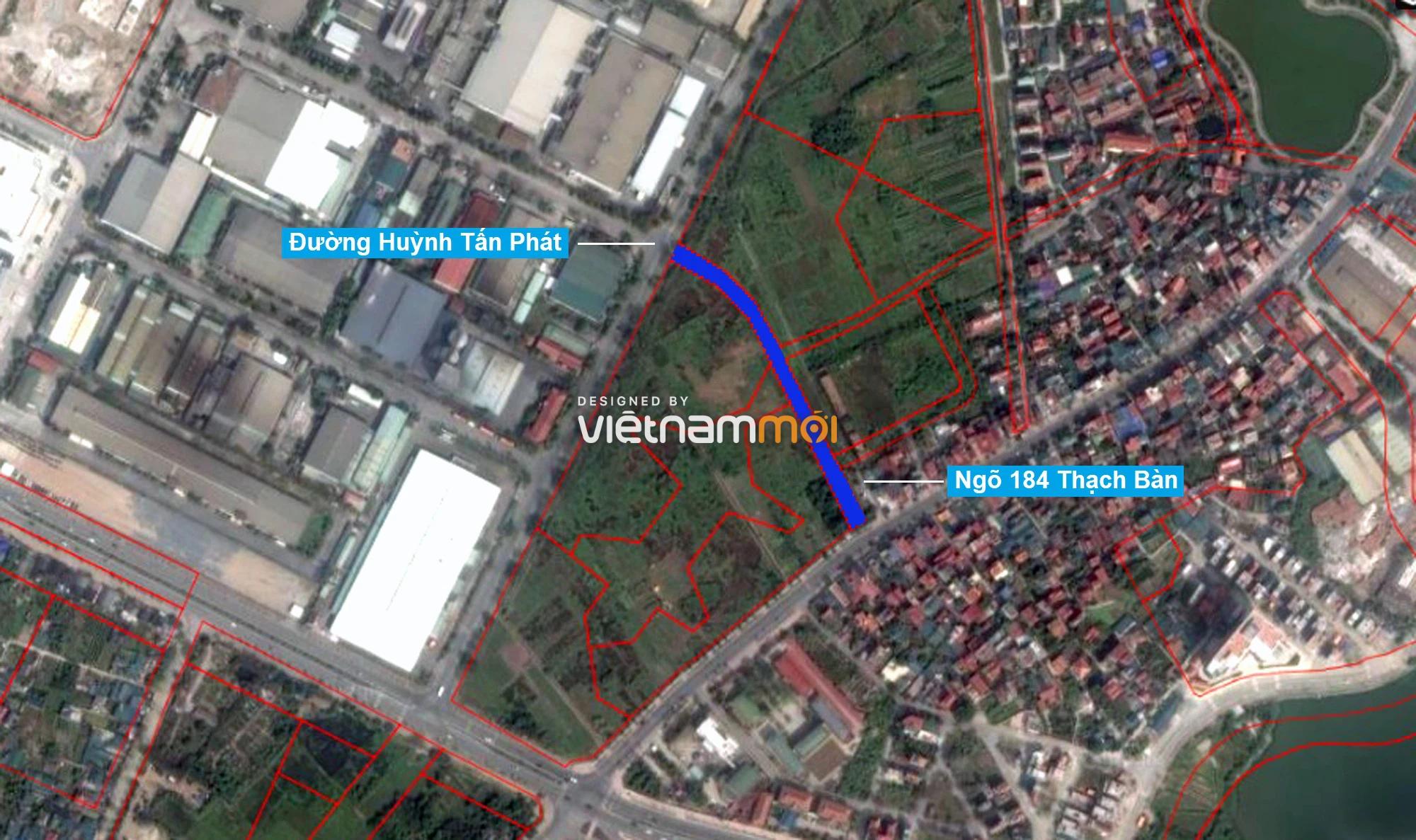 Những khu đất sắp thu hồi để mở đường ở phường Thạch Bàn, Long Biên, Hà Nội (phần 1) - Ảnh 2.