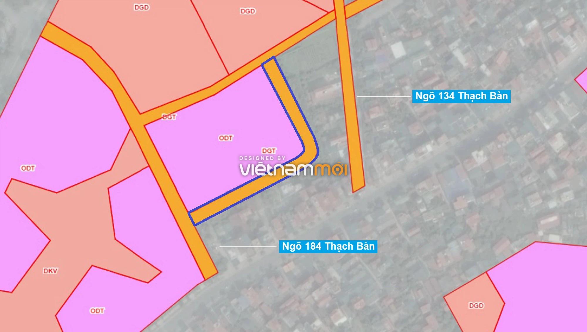 Những khu đất sắp thu hồi để mở đường ở phường Thạch Bàn, Long Biên, Hà Nội (phần 1) - Ảnh 7.