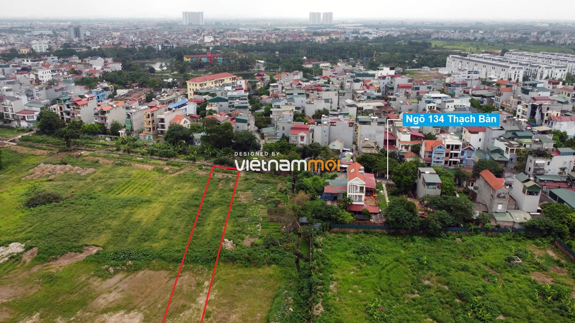 Những khu đất sắp thu hồi để mở đường ở phường Thạch Bàn, Long Biên, Hà Nội (phần 1) - Ảnh 16.