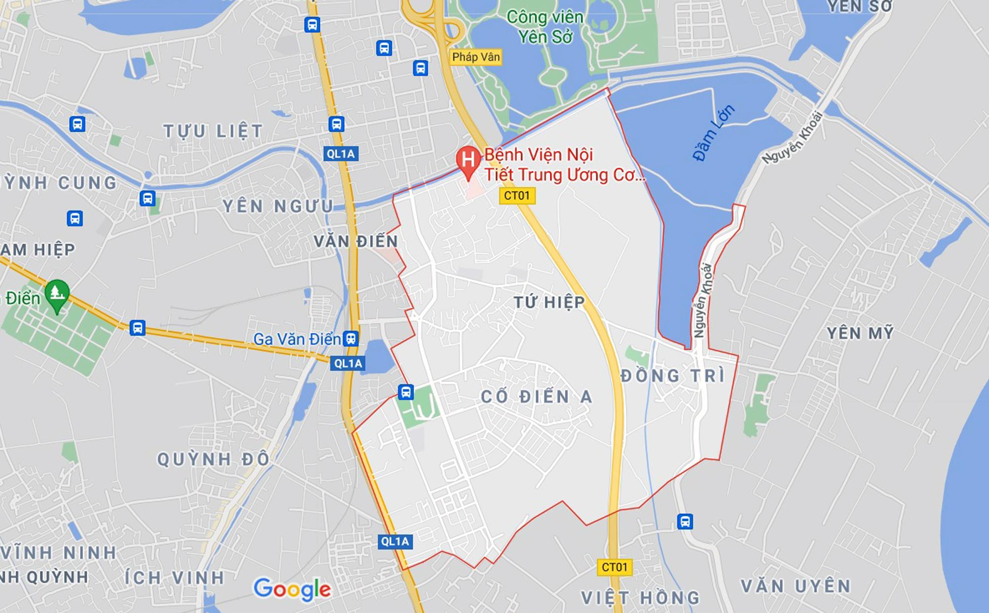 Những khu đất sắp thu hồi để mở đường ở xã Tứ Hiệp, Thanh Trì, Hà Nội (phần 2) - Ảnh 1.