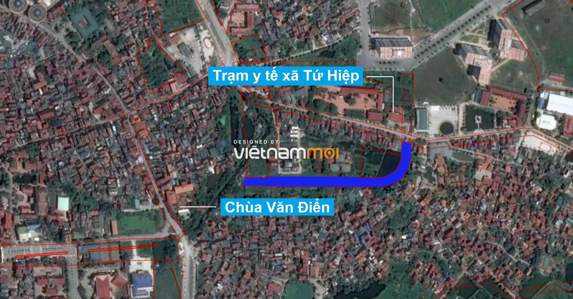 Những khu đất sắp thu hồi để mở đường ở xã Tứ Hiệp, Thanh Trì, Hà Nội (phần 2) - Ảnh 2.