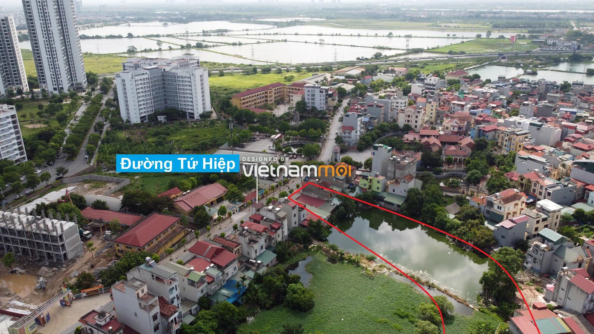 Những khu đất sắp thu hồi để mở đường ở xã Tứ Hiệp, Thanh Trì, Hà Nội (phần 2) - Ảnh 3.