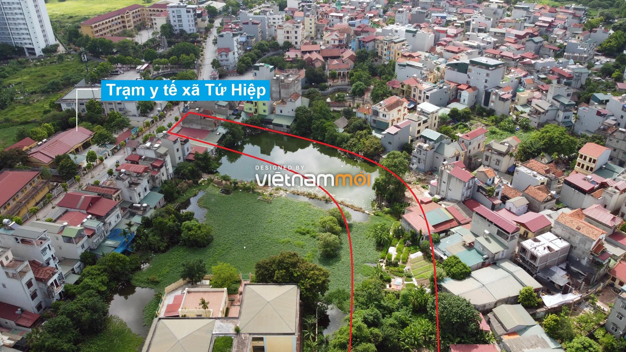 Những khu đất sắp thu hồi để mở đường ở xã Tứ Hiệp, Thanh Trì, Hà Nội (phần 2) - Ảnh 4.