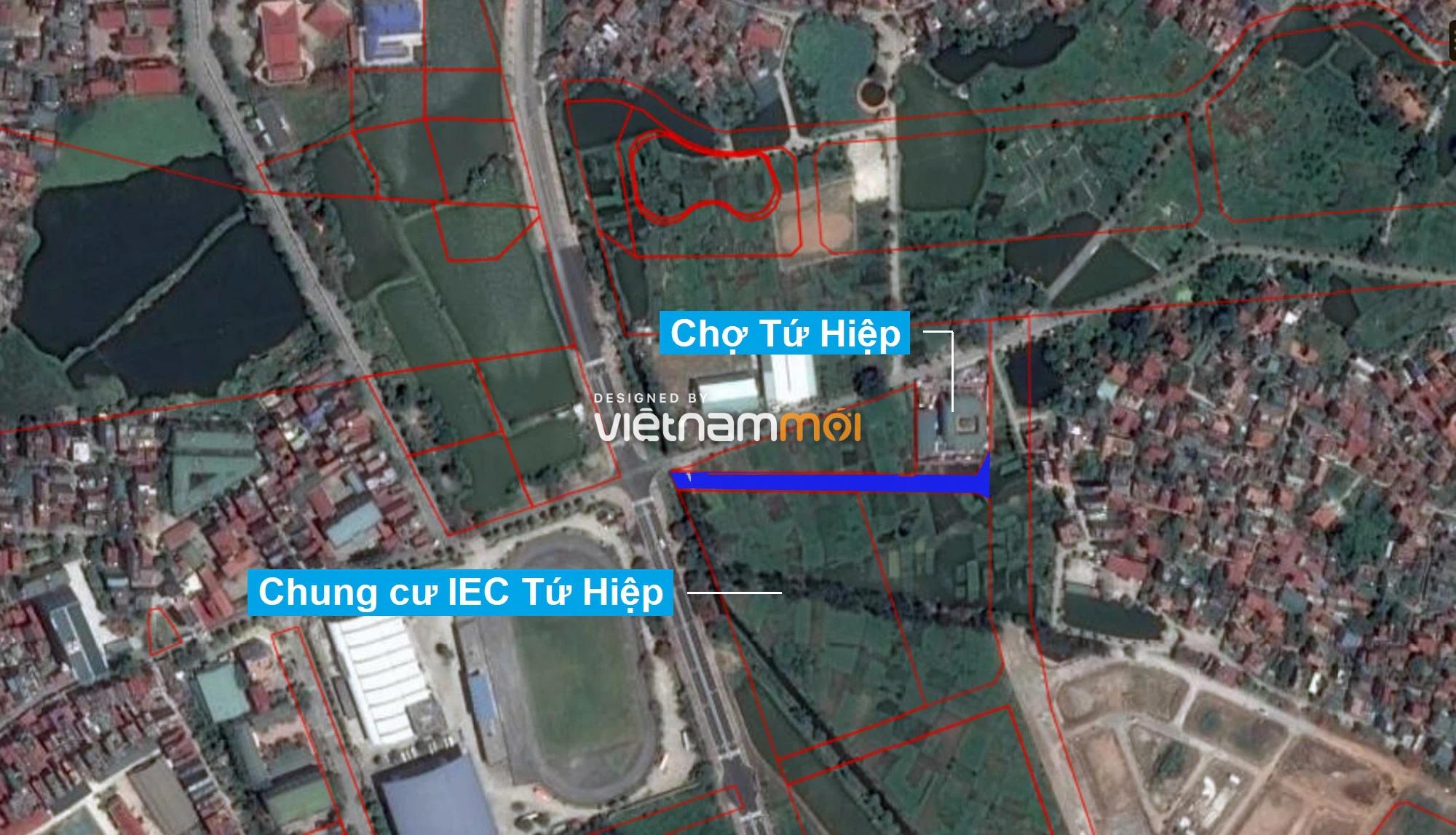 Những khu đất sắp thu hồi để mở đường ở xã Tứ Hiệp, Thanh Trì, Hà Nội (phần 2) - Ảnh 16.