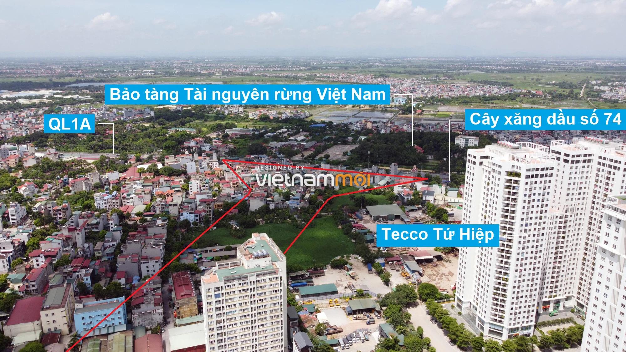 Những khu đất sắp thu hồi để mở đường ở xã Ngũ Hiệp, Thanh Trì, Hà Nội (phần 1) - Ảnh 3.