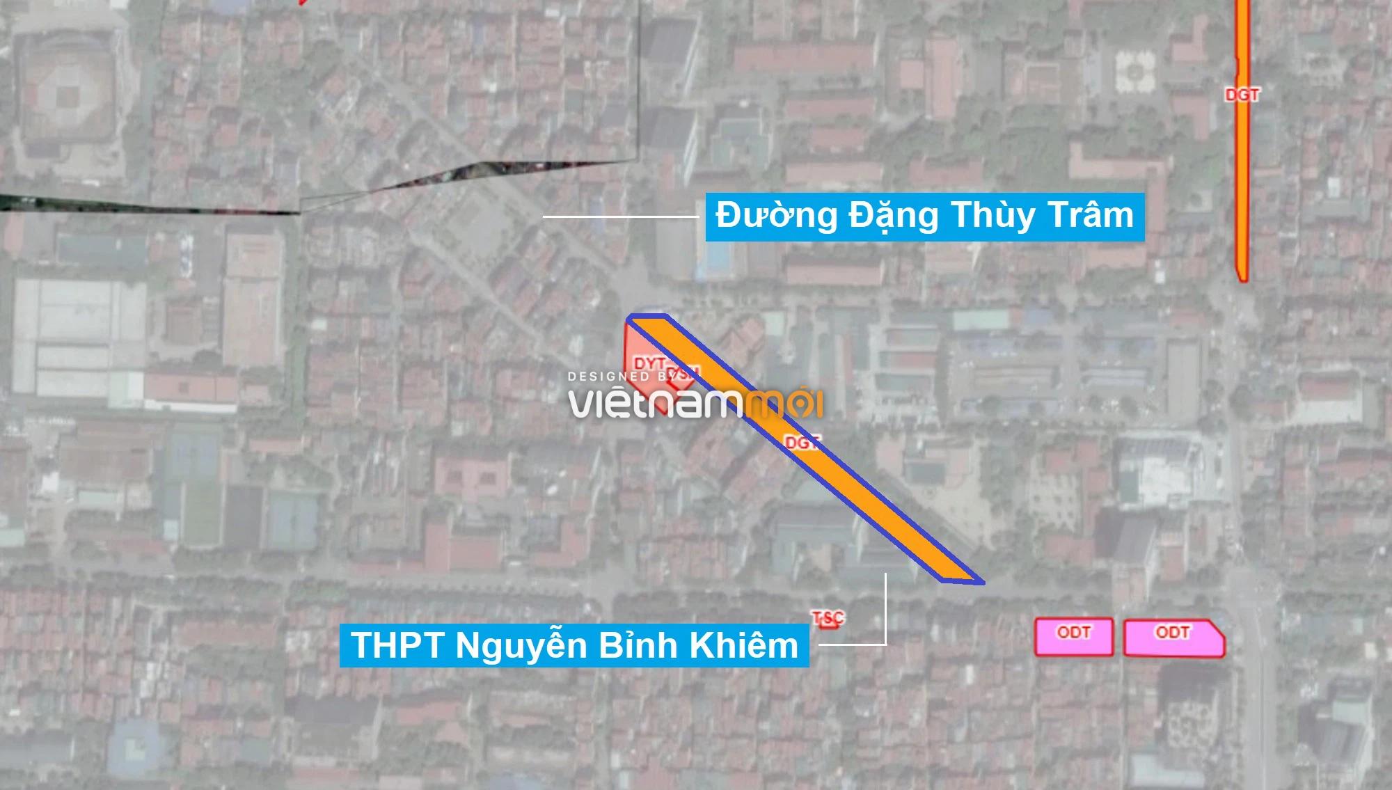 Những khu đất sắp thu hồi để mở đường ở quận Cầu Giấy, Hà Nội - Ảnh 1.