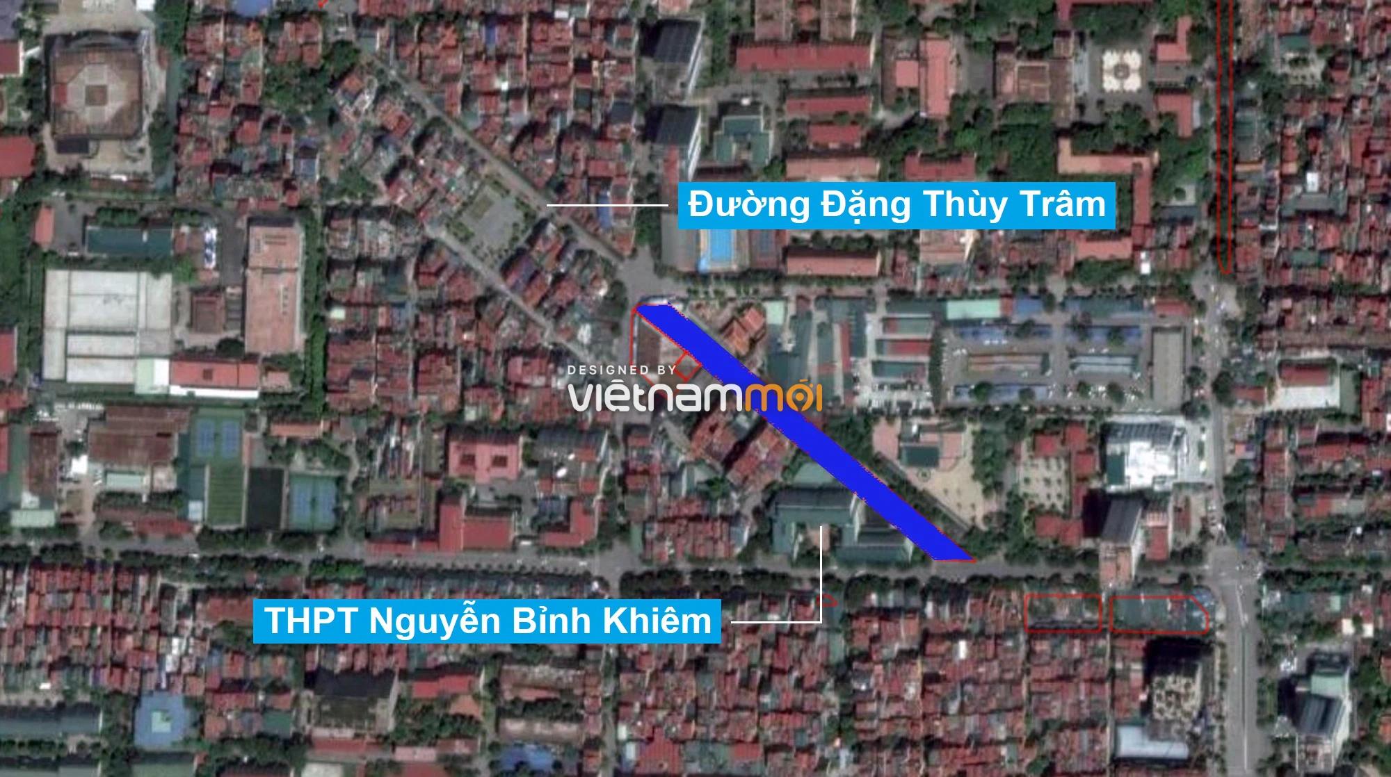Những khu đất sắp thu hồi để mở đường ở quận Cầu Giấy, Hà Nội - Ảnh 2.