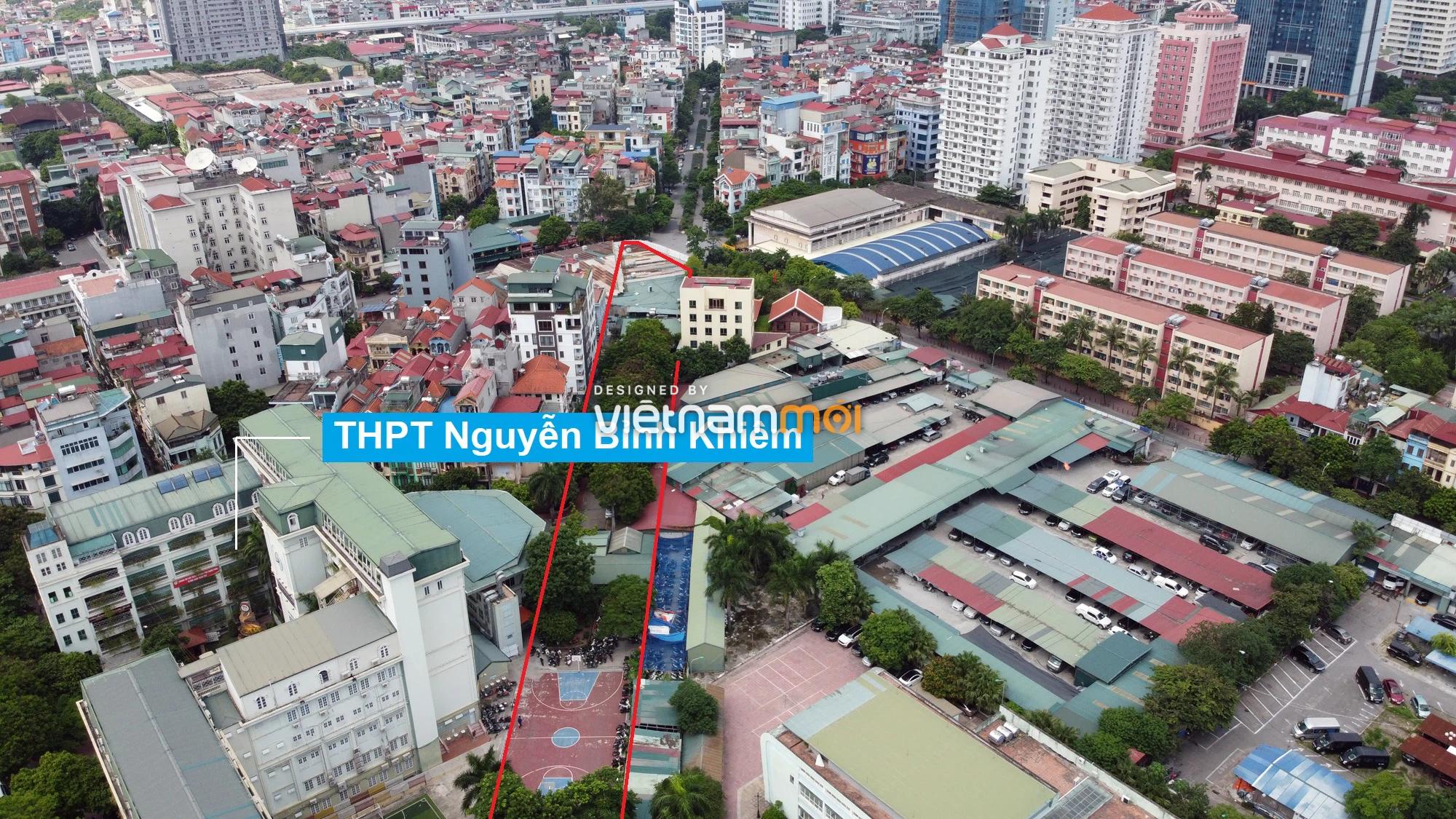 Những khu đất sắp thu hồi để mở đường ở quận Cầu Giấy, Hà Nội - Ảnh 4.