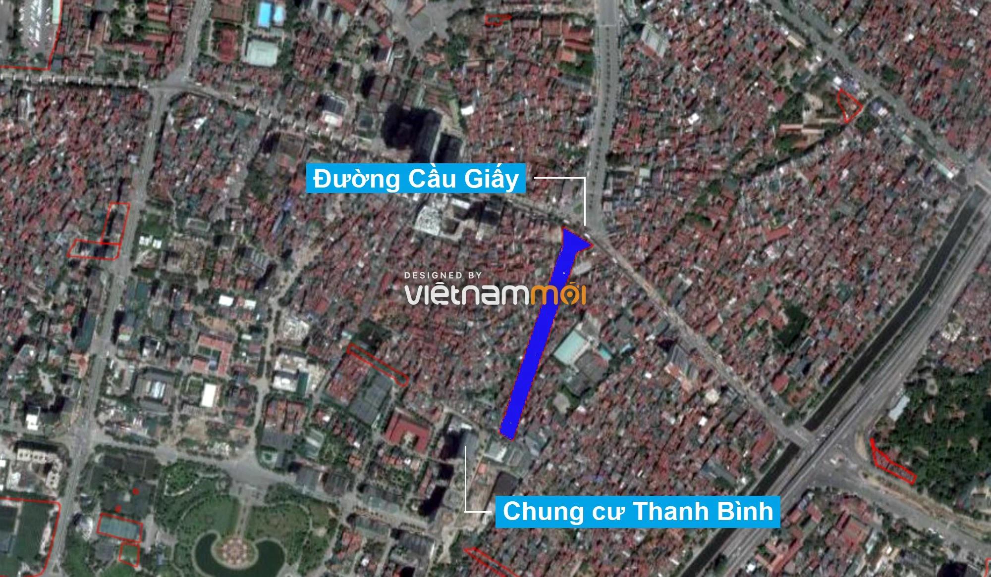 Những khu đất sắp thu hồi để mở đường ở quận Cầu Giấy, Hà Nội - Ảnh 9.