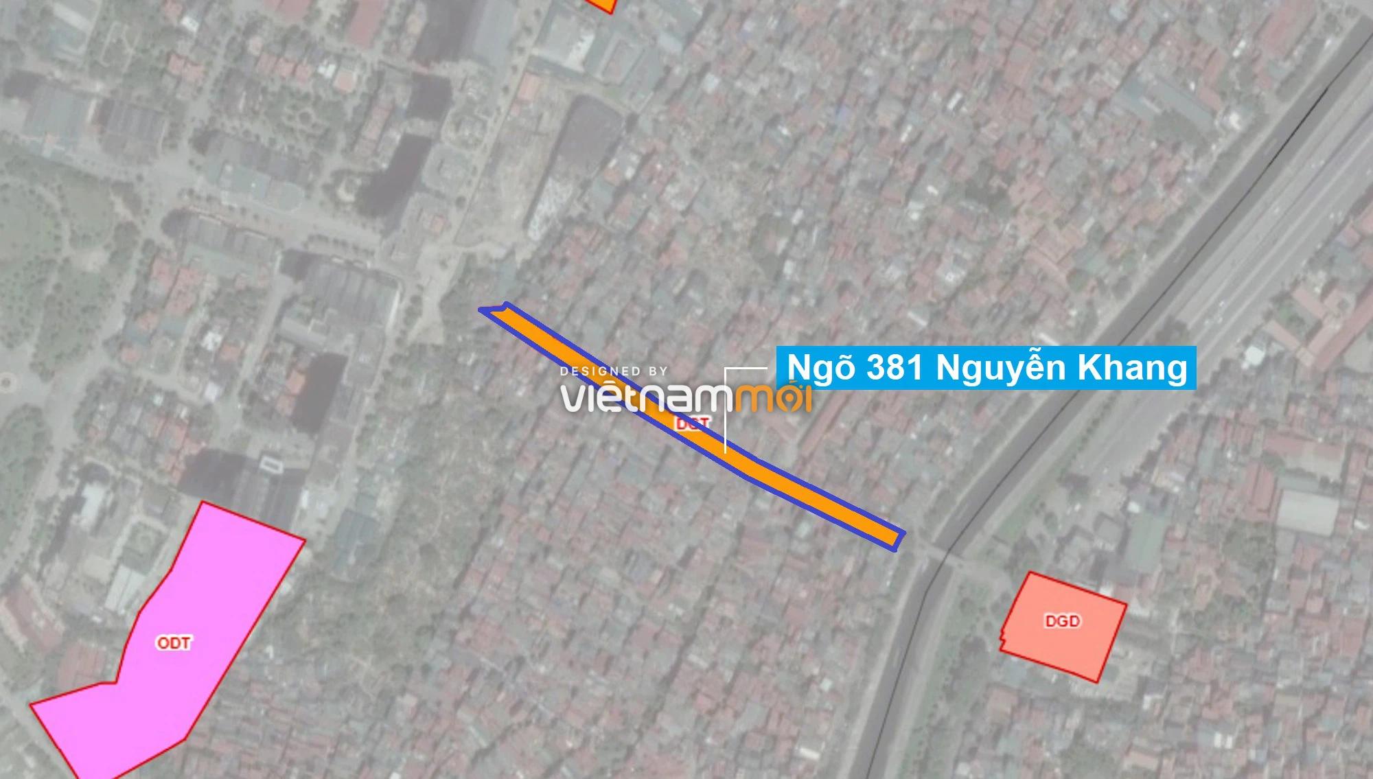 Những khu đất sắp thu hồi để mở đường ở quận Cầu Giấy, Hà Nội - Ảnh 12.