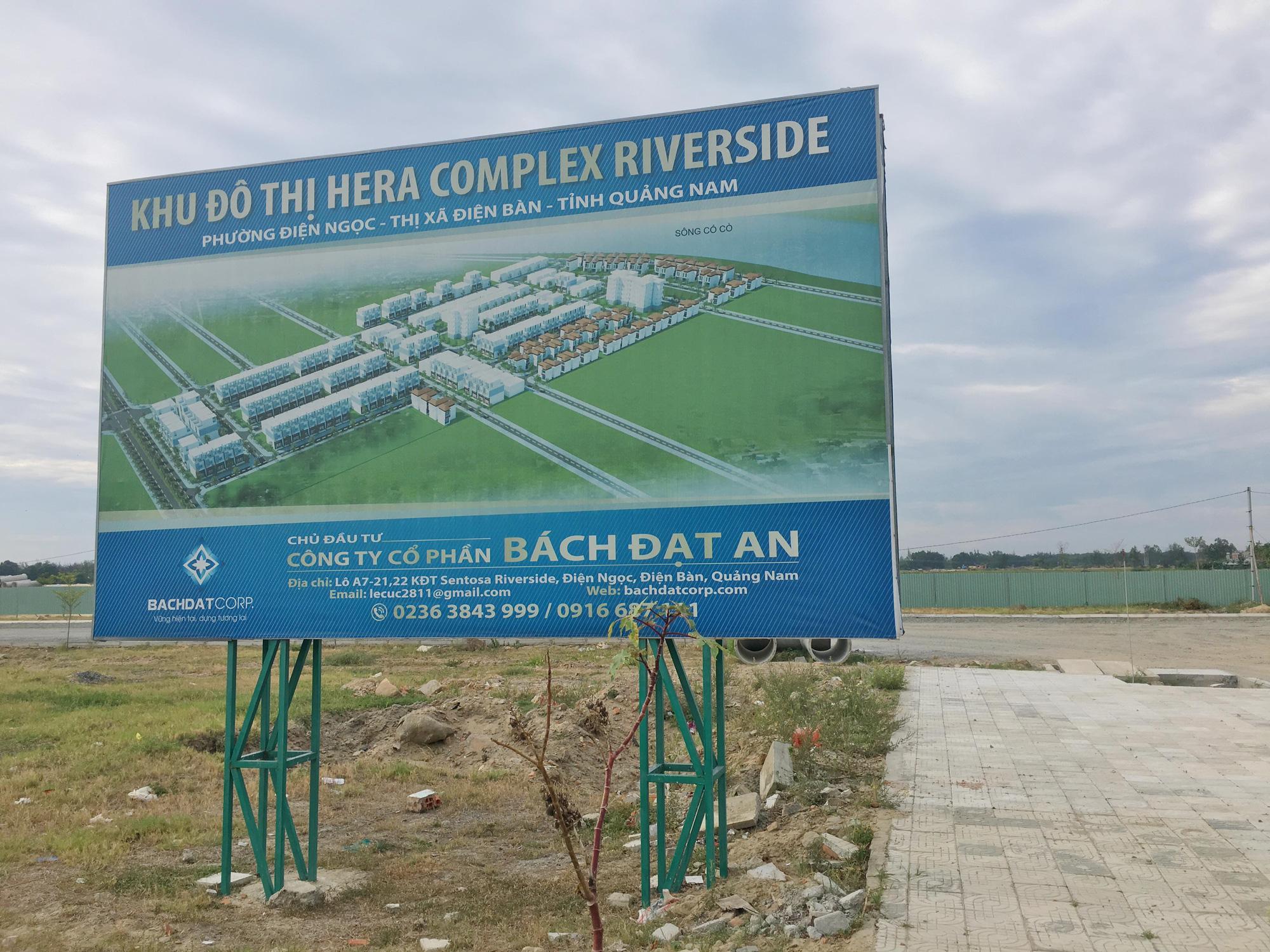 Hàng chục dự án ở Quảng Nam thi công trước khi lập phương án bồi thường - Ảnh 1.