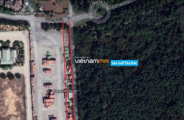 Đường sẽ mở theo quy hoạch ở phường Long Thạnh Mỹ, quận 9, Thủ Đức, TP HCM  - Ảnh 2.