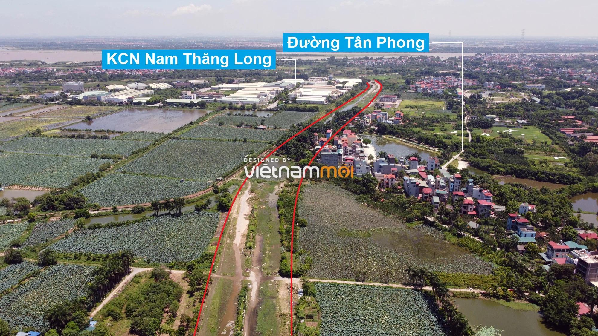 Những khu đất sắp thu hồi để mở đường ở quận Bắc Từ Liêm, Hà Nội (phần 3) - Ảnh 5.