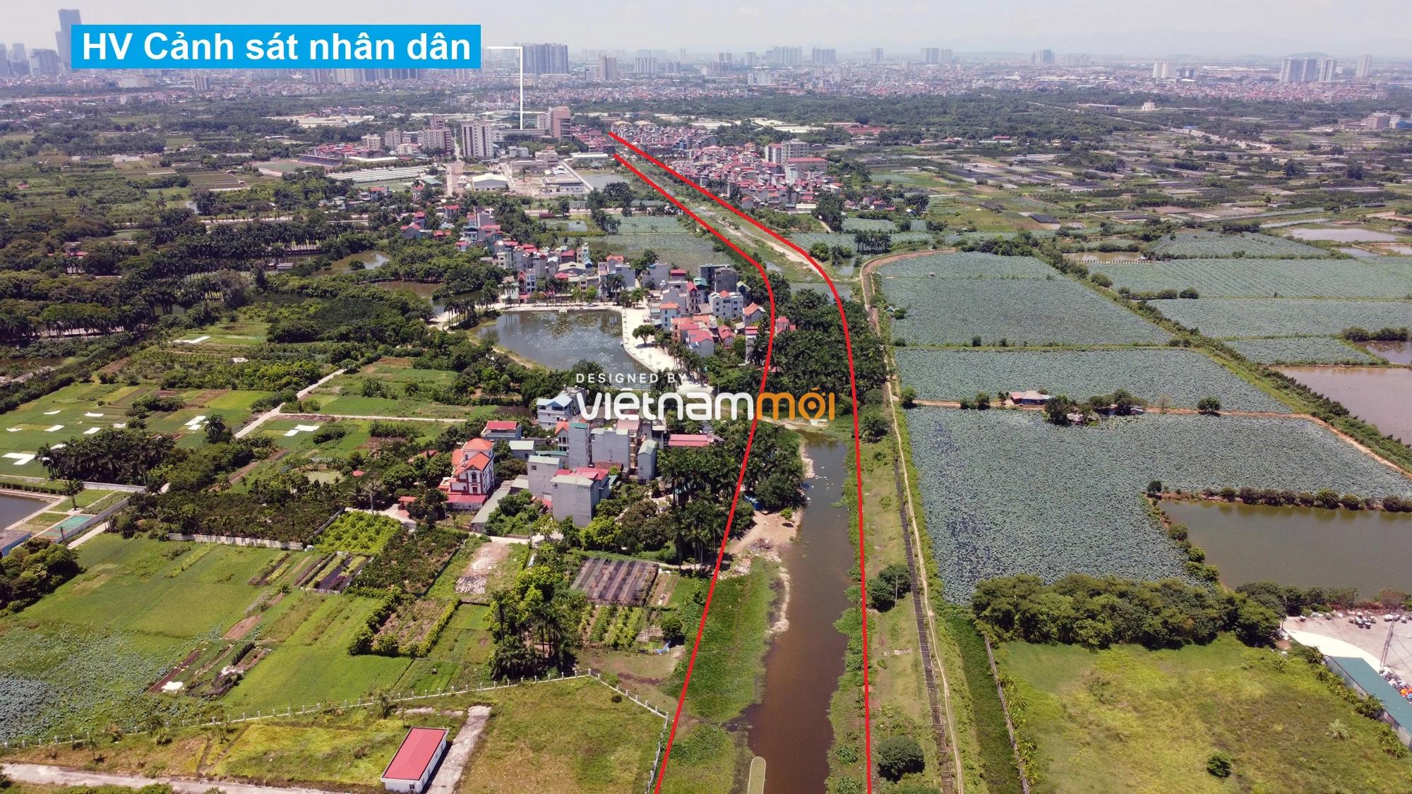 Những khu đất sắp thu hồi để mở đường ở quận Bắc Từ Liêm, Hà Nội (phần 3) - Ảnh 6.
