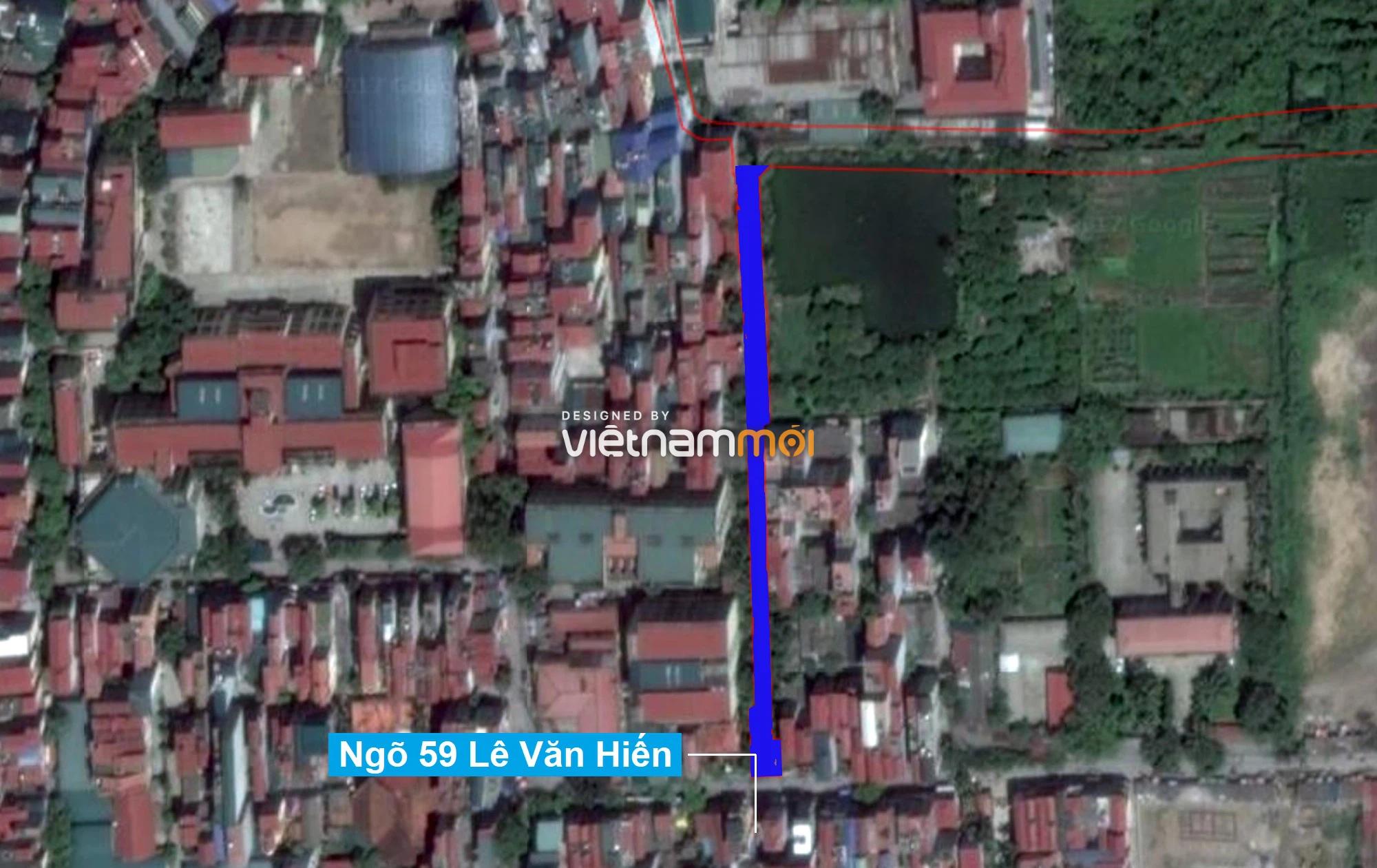 Những khu đất sắp thu hồi để mở đường ở quận Bắc Từ Liêm, Hà Nội (phần 3) - Ảnh 9.